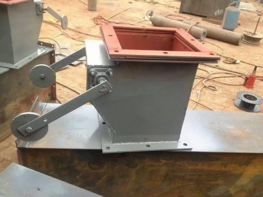 单层重锤翻板阀